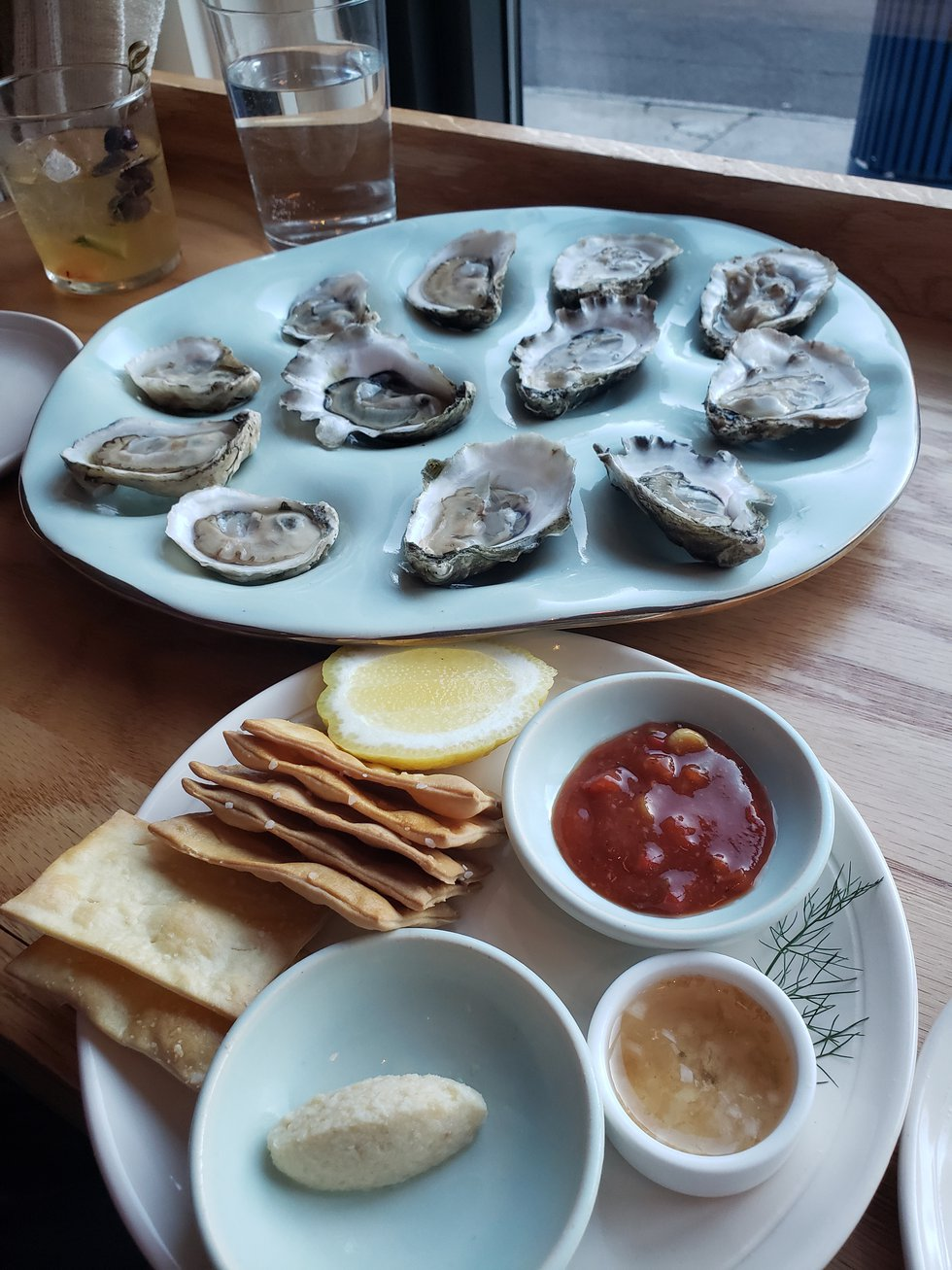 The star of the show, Seabird's selection of oysters are so tasty they can either start your...