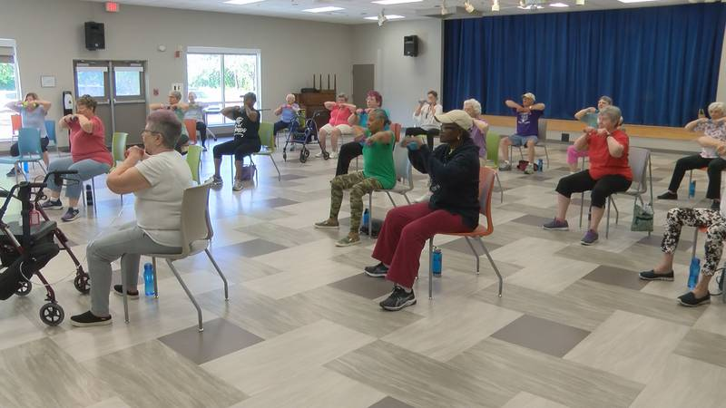 Geri-Fit class for seniors over 60