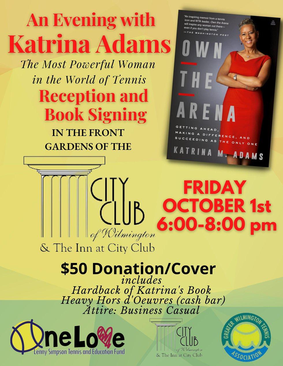 An Evening with Katrina Adams