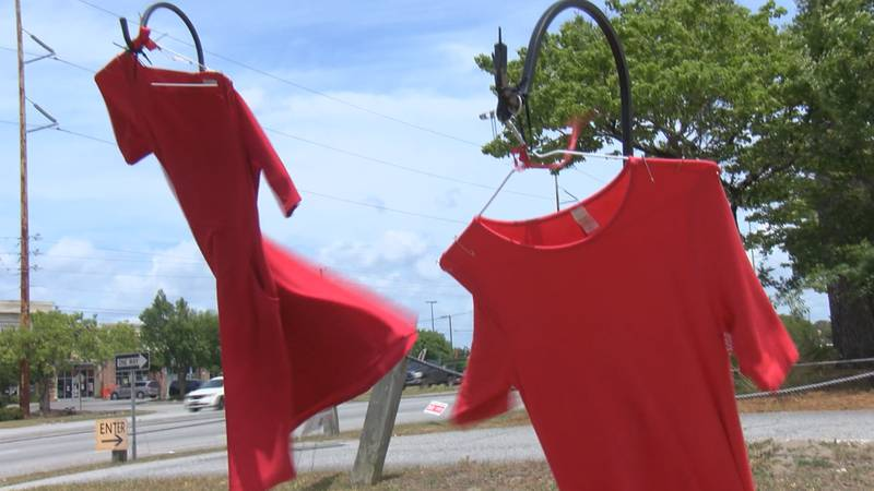 Red Dress Exhibit