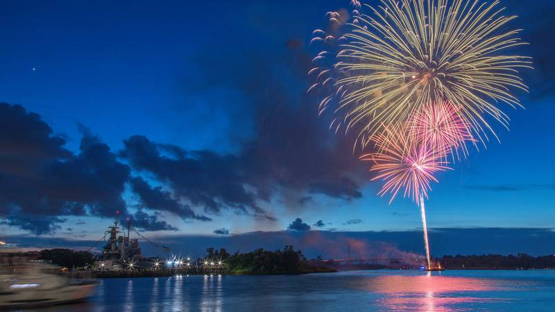 A dazzling fireworks show is bound to be the star of downtown Wilmington this Fourth of July as...
