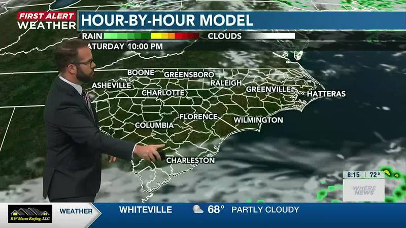Your First Alert Forecast from Sat. morning, Jul. 3, 2021