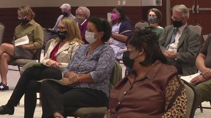 New Hanover County held the first listening session to hear ideas from the community about how...