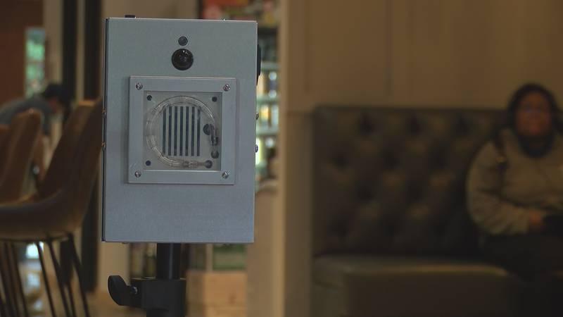 Coffee shop invests in COVID-killing machine