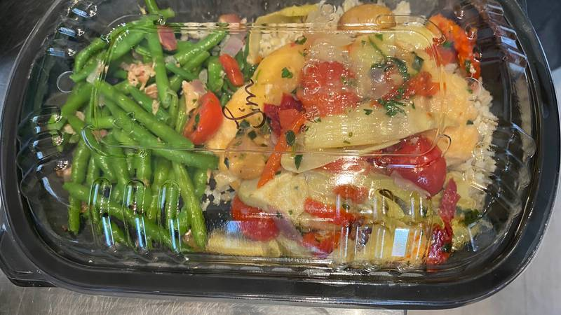 Take out/dine in food options