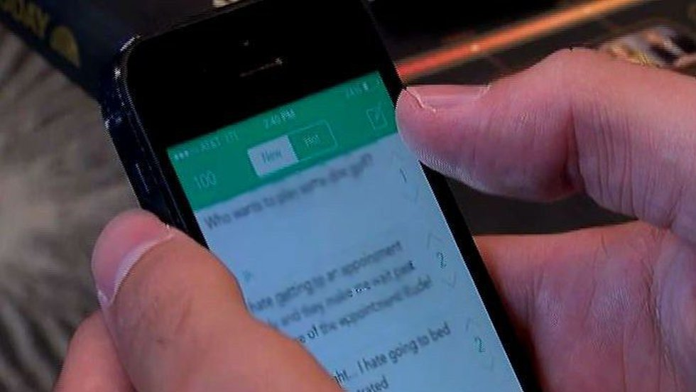 """""""Individuals who have violated the law [Thursday] using Yik Yak will be brought to justice,""""..."""