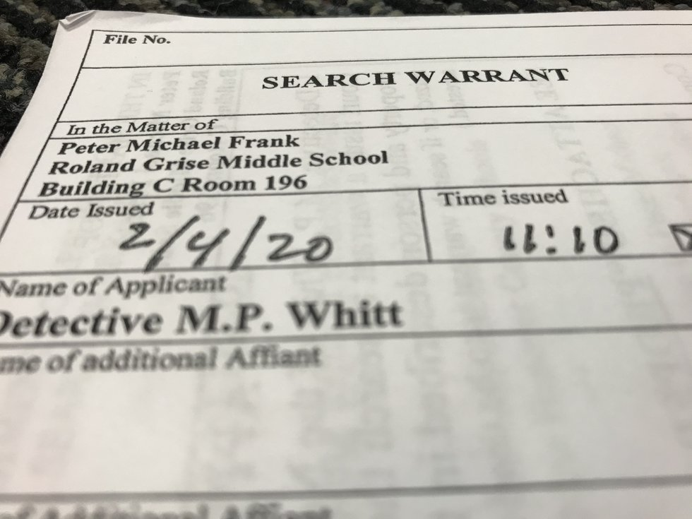 Because some cases never go to trial, the search warrant is at times the only way the public...