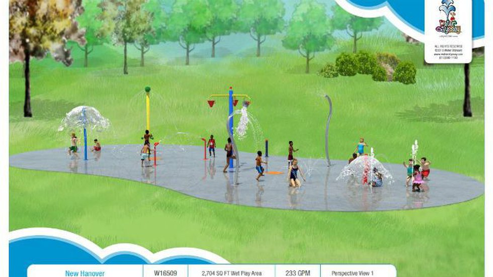A $750,000 makeover of the playground area at Hugh MacRae Parkis under way. (Source: City of...