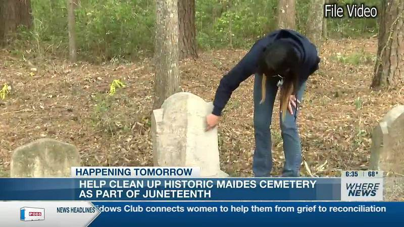 Maides Cemetary clean-up event