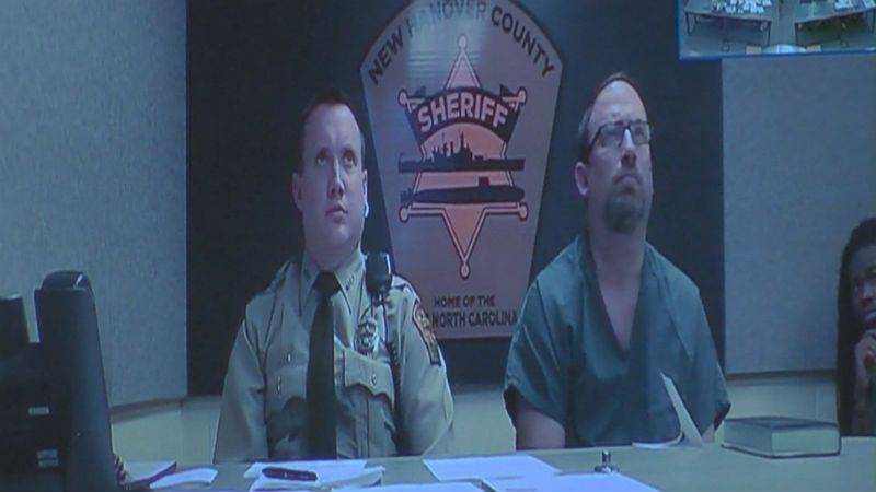 Michael Kelly in court. (Source: WECT)