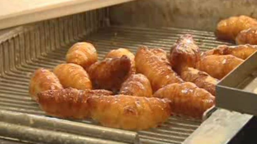 The Burneys introduced the fried croissant when they opened in November, and now, they say...