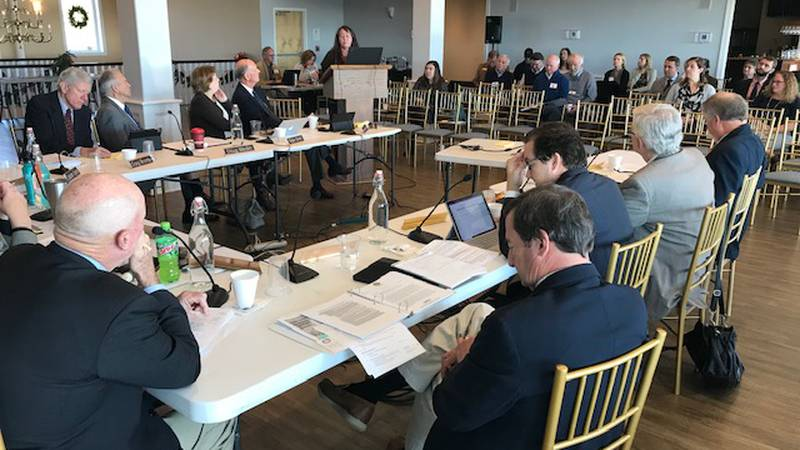 The North Carolina Coastal Resources Commission sat down to give stakeholders an environmental...