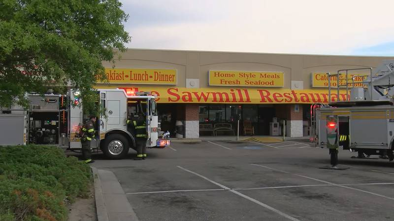 Officials said flames and smoke were visible as crews arrived at the restaurant located at 5611...