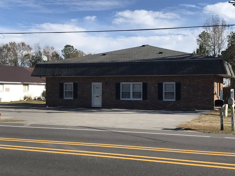 McCrae Dowless' former friend, Jeff Smith, said this building on Highway 410 in Bladen County...