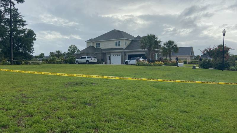 """An """"active criminal investigation"""" is underway at Regalia Lane in Leland Friday evening,"""