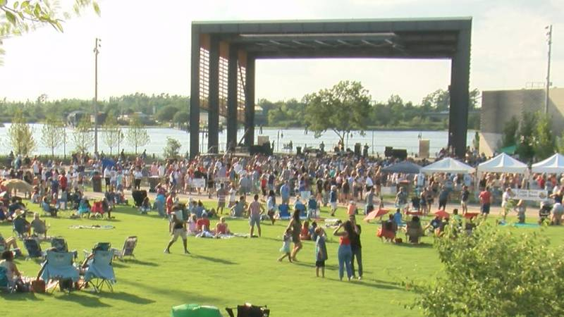 Riverfront Park grand opening