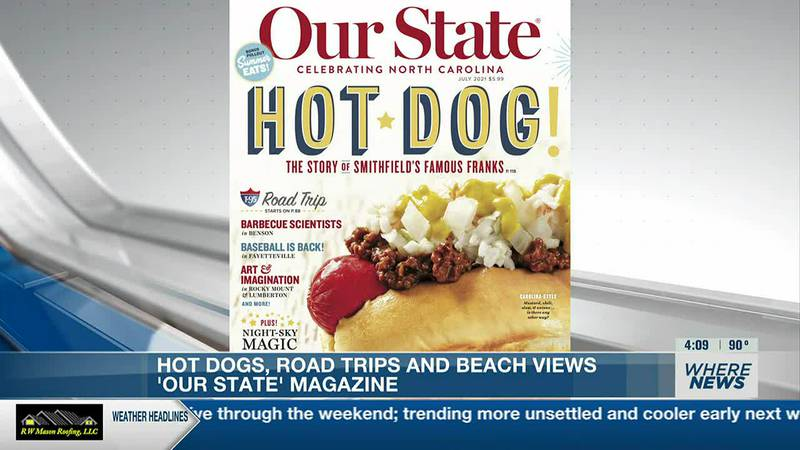Inside the July issue of 'Our State'