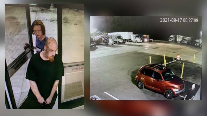 As the victim accelerated to get away, the suspect allegedly struck the victim's vehicle with...