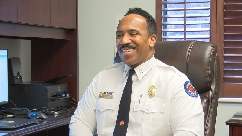 After 30 years, Wilmington's second African American assistant fire chief is retiring.
