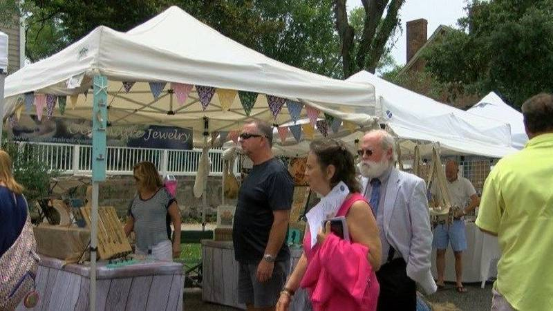 The 25th Annual Orange Street ArtsFest will set up shop in downtown Wilmington.(Source: WECT)
