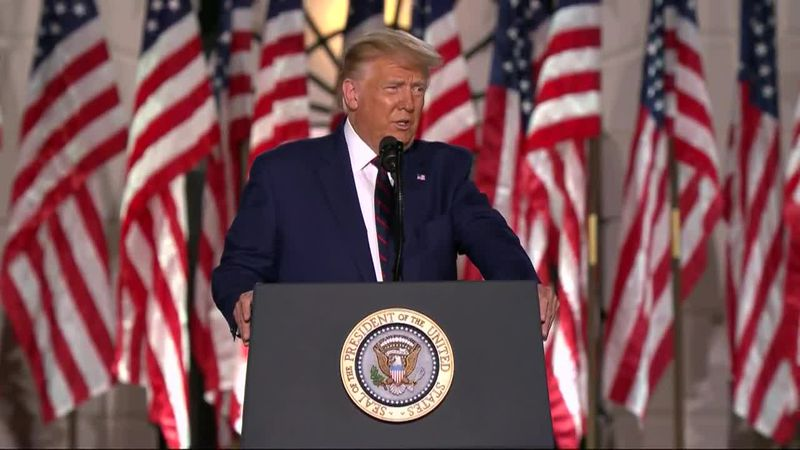 President Trump ordered up a scene never before seen at the White House: an American president...