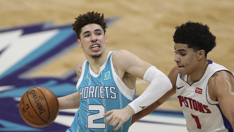 Charlotte Hornets guard LaMelo Ball won the NBA's Rookie of the Year.