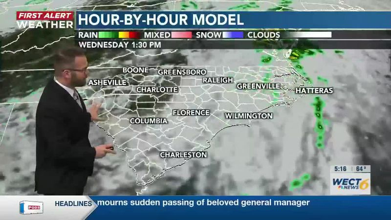 Your First Alert Forecast from Mon. Evening, Mar. 22, 2021