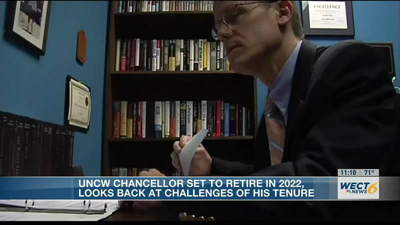 UNCW's Chancellor Jose Sartarelli reflects on the tragic loss of Professor Mike Adams