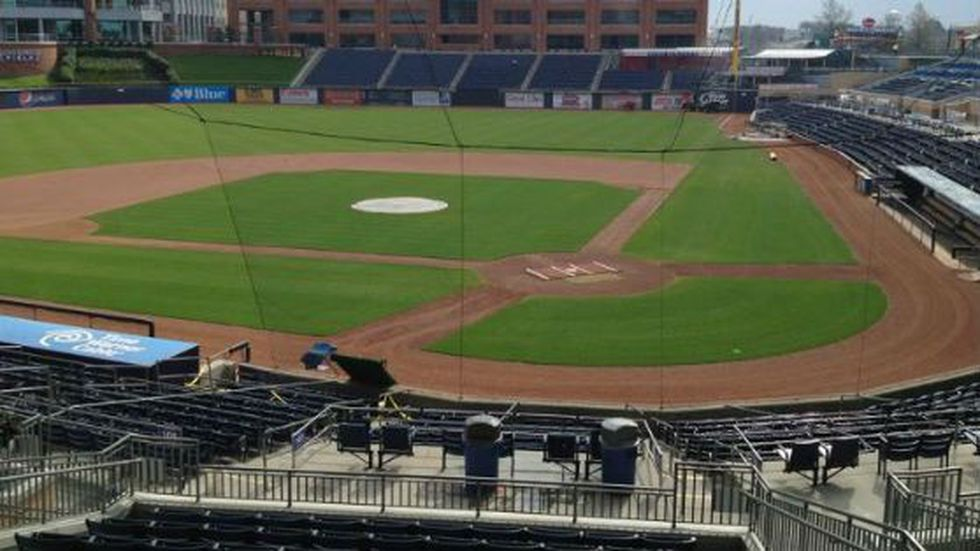 A handful of Wilmington City Council members visited the Durham Bulls Athletic Park Friday to...