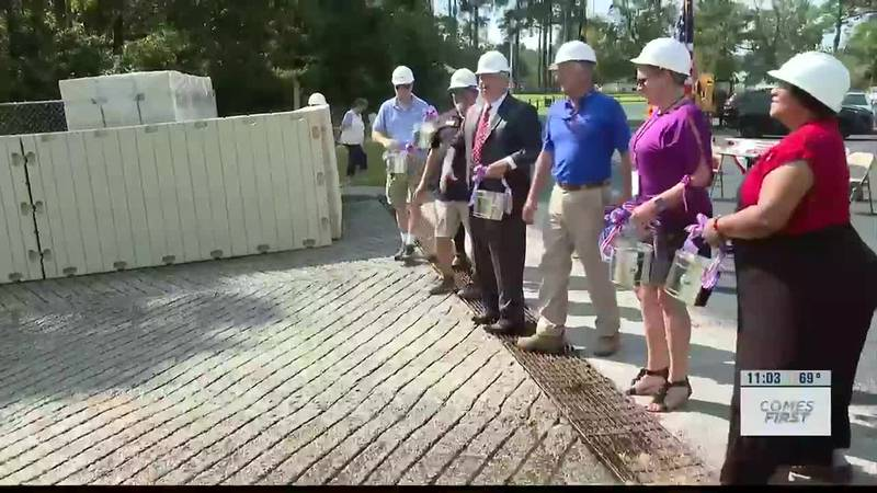 Town of Belville kicks off Riverwalk Park improvements