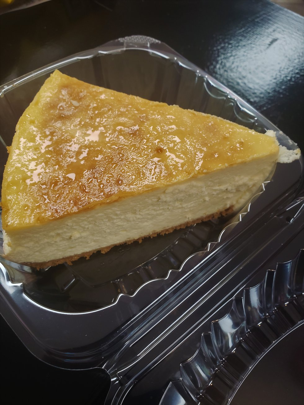 Rich, decadent, lovely...all words that describe this homemade cheesecake from A Taste of Italy.