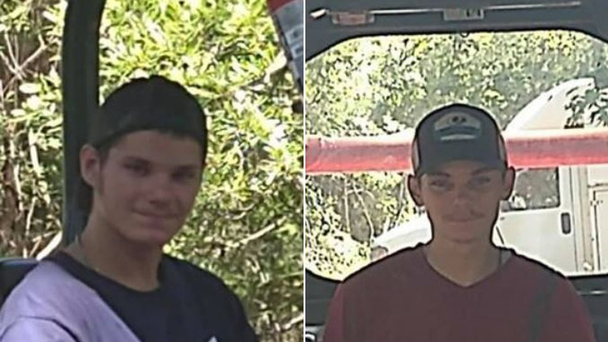 George and Anthony Lawrence were last seen in Supply around 3:30 Thursday.