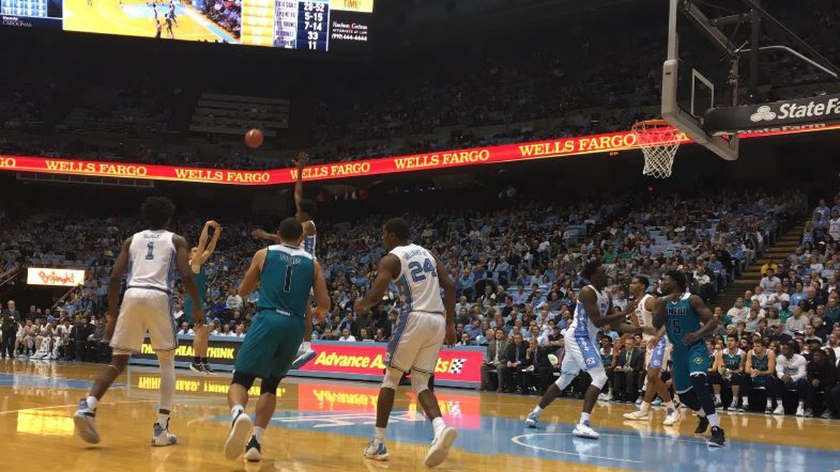 UNCW takes on North Carolina in Chapel Hill on Wednesday night. (Source: WECT)