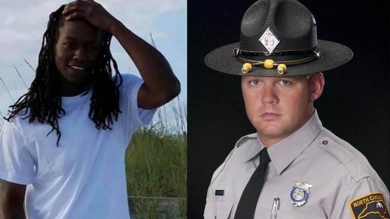 Brandon Webster, left, and Trooper S.A. Collins (Source: Family/N.C. State Highway Patrol)