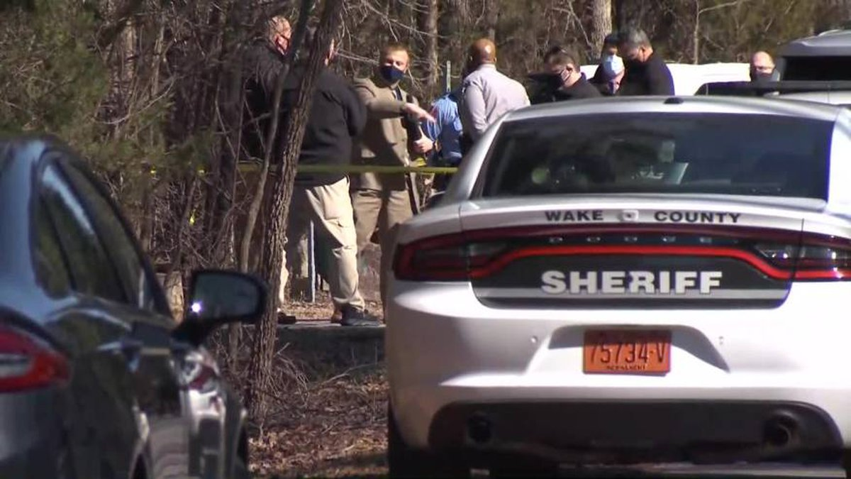 A woman's body was found in a suitcase Monday morning off Allen Road, which is east of Raleigh...