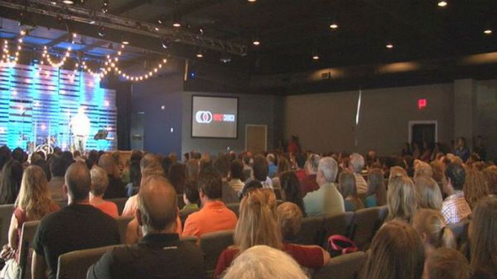 Baseball teams from all over New Hanover County gathered Sunday morning for a service at Impact...