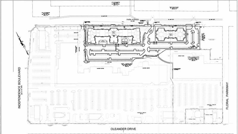 The Oleander Company, Inc., submitted plans for Metro Park to the City of Wilmington's planning...