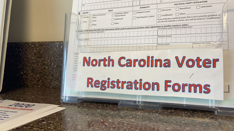 Voters have a number of options to register to vote.