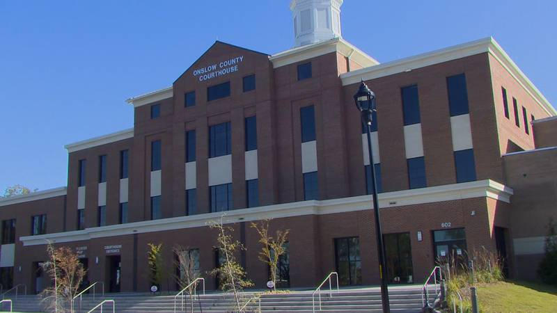 Onslow County Courthouse.