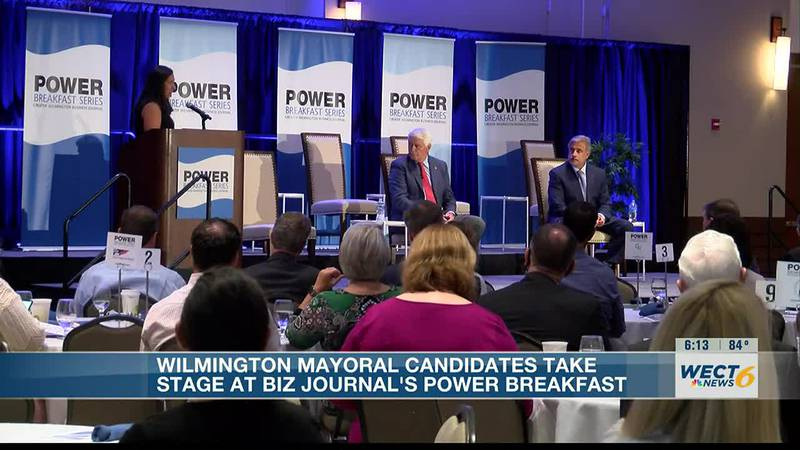 Wilmington Mayoral candidates for municipal elections attend power breakfast