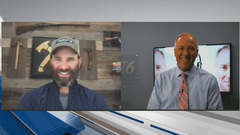Jack Carr (left), New York Times bestselling author and former Navy Seal sniper, is the guest...