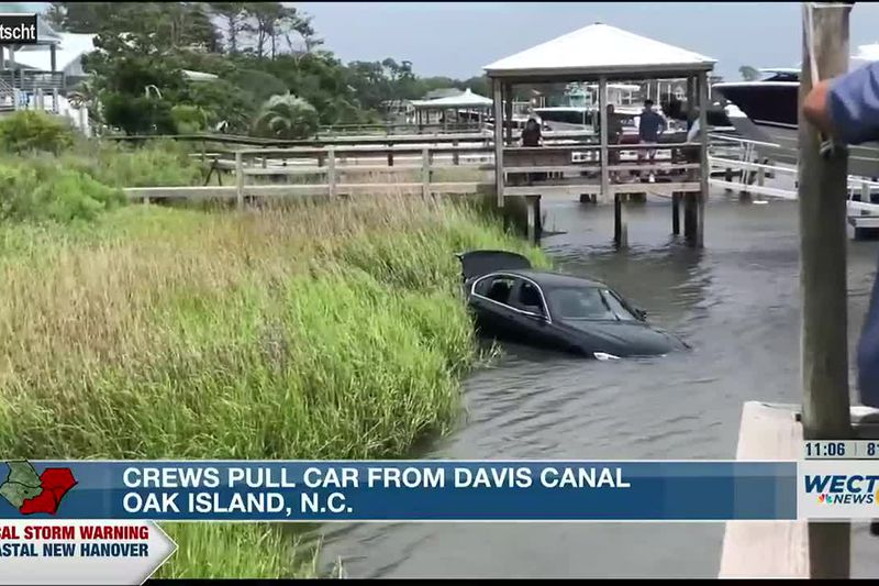 Crews from Oak Island Water Rescue and the Oak Island Fire and Police Departments were...