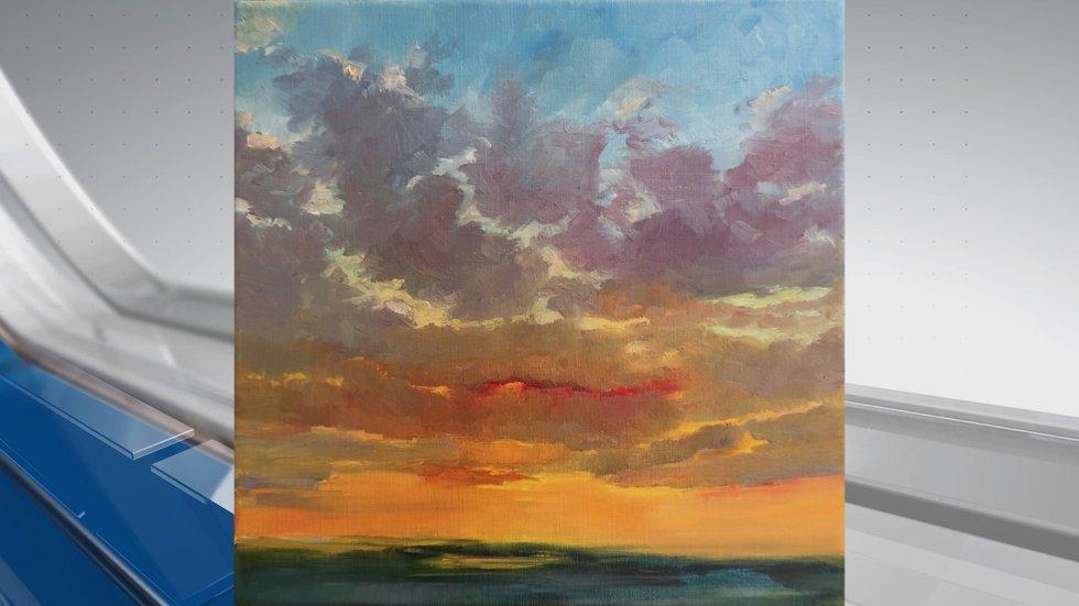 A painting from Leland artist Kari Feuer. (Source: Kari Feuer)