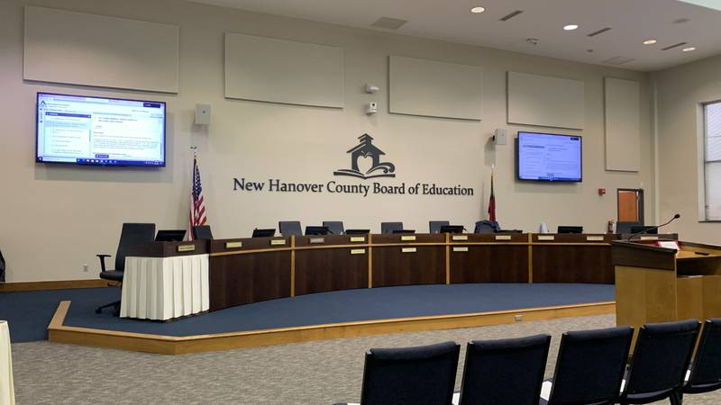 New Hanover County Board of Education revisited the naming of Laney High School's football...