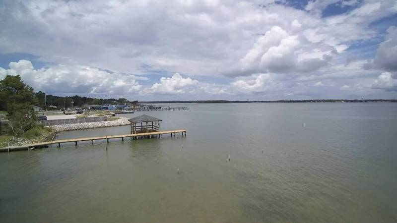 SKY TRACKER: Looking over Sneads Ferry