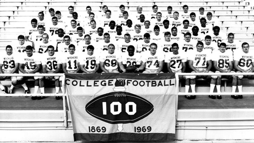 1969 University of Wyoming football team.