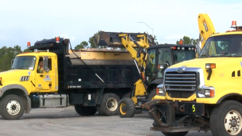 NCDOT Winter Weather Prep Day. (source: WECT)