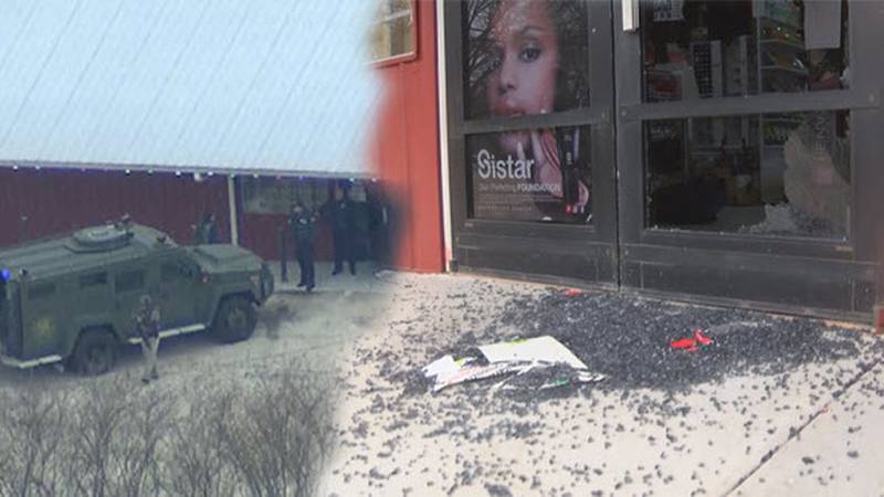 Officials say a 17-year-old armed robbery suspect had to break out of the business he targeted...