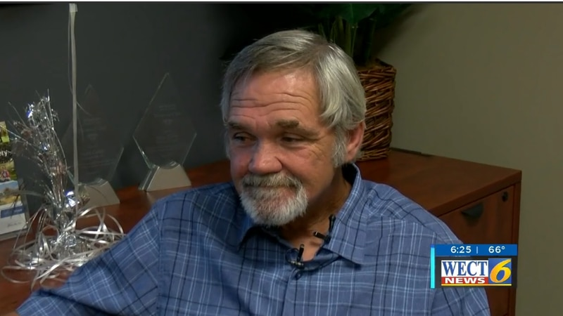Local man gifted hearing aids.