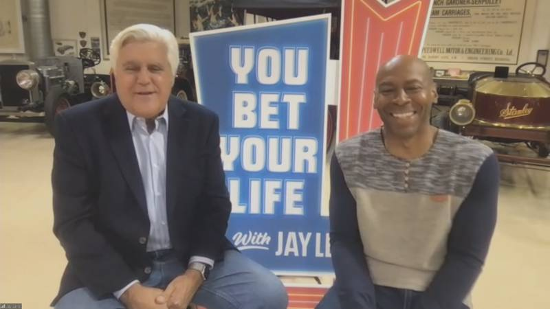 """Jay Leno and Kevin Eubanks are back together on television. The former host of """"The Tonight..."""